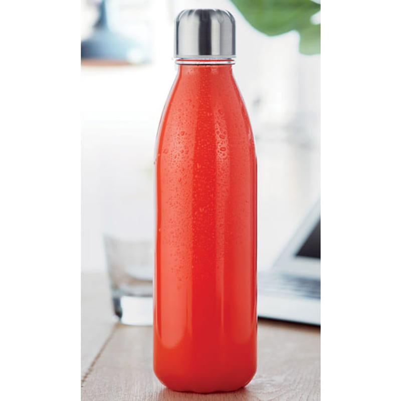 Glazen flessen met roestvrijstalen stop 650 ml