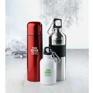 Aluminium flessen met karabijnhaak