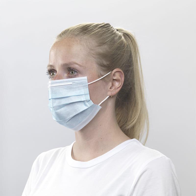 Wegwerp mondkapjes incl. customised sleeve