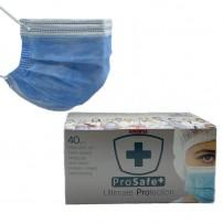 Chirurgische mondkapjes Type II gemaakt in Spanje
