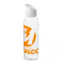 Botellas de agua fáciles de transportar con tapón a rosca