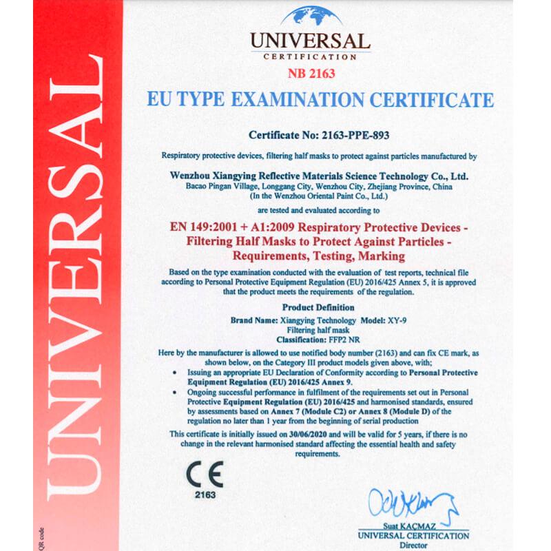 Mondkapjes FFP2 zwart (CE-certificering)