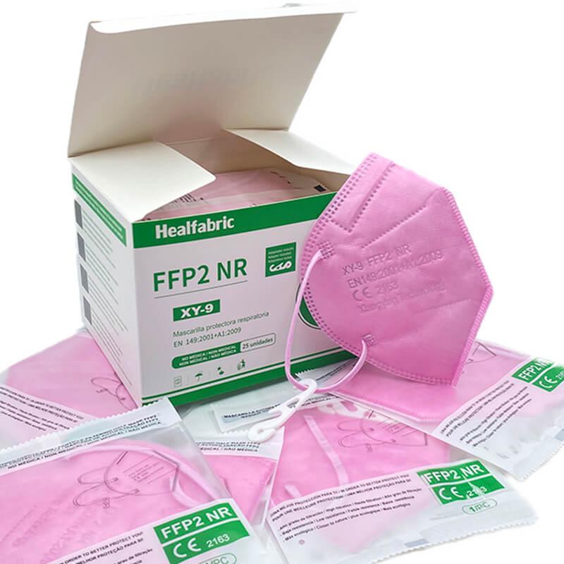 Mondkapjes FFP2 kleuren (CE-certificering)