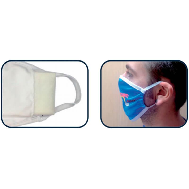 Bedrukken gezichtsmaskers met verwisselbare filters